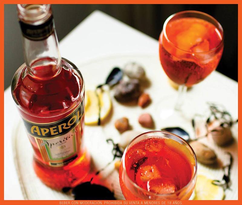 Comenzaron los Aperol Spritz Sunsets