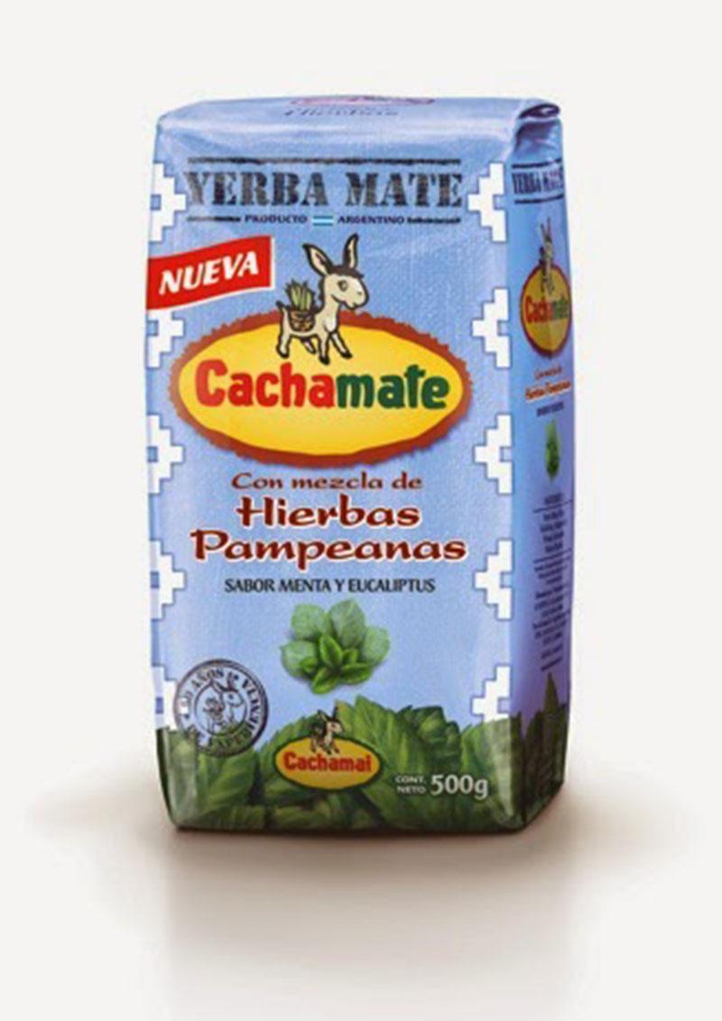 Lo nuevo en yerbas: Cachamate, mezcla de Hierbas Pampeanas