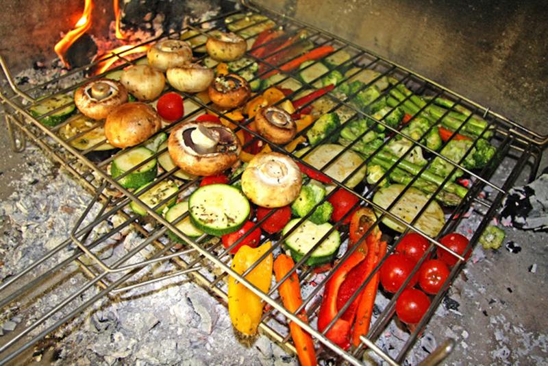Resultado de imagen para Parrillada vegetariana