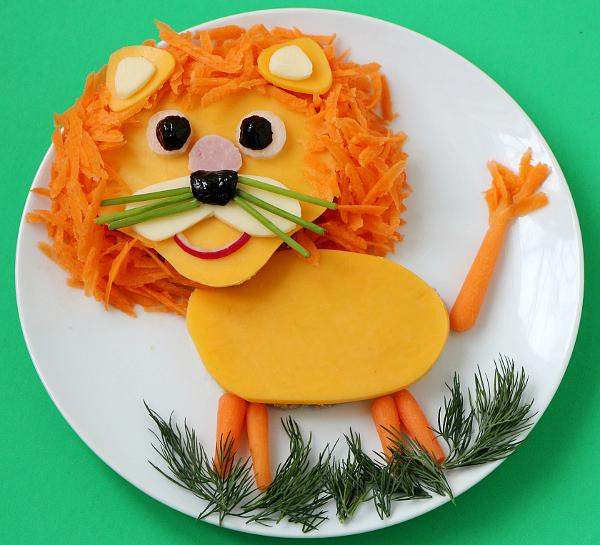 """""""Food Art"""": ideas para que los chicos coman su comida"""