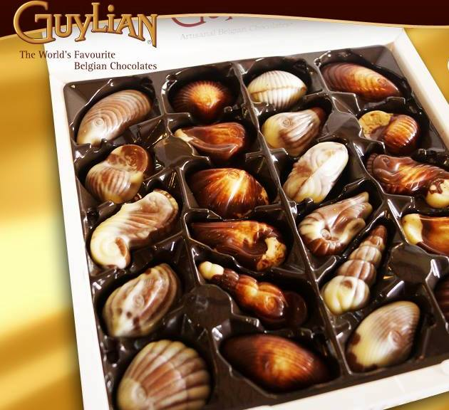 Chocolates Guylian vuelve a la Argentina