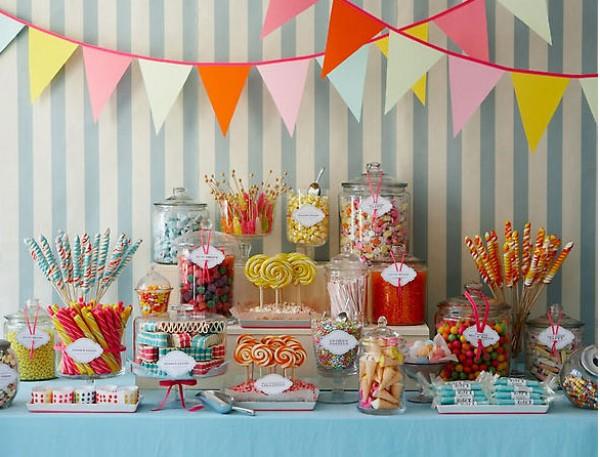 Candy Bar, una tendencia cada vez más usual en los eventos