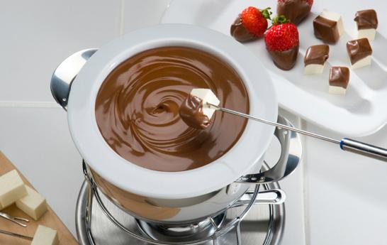 Tips para preparar una buena fondue de chocolate