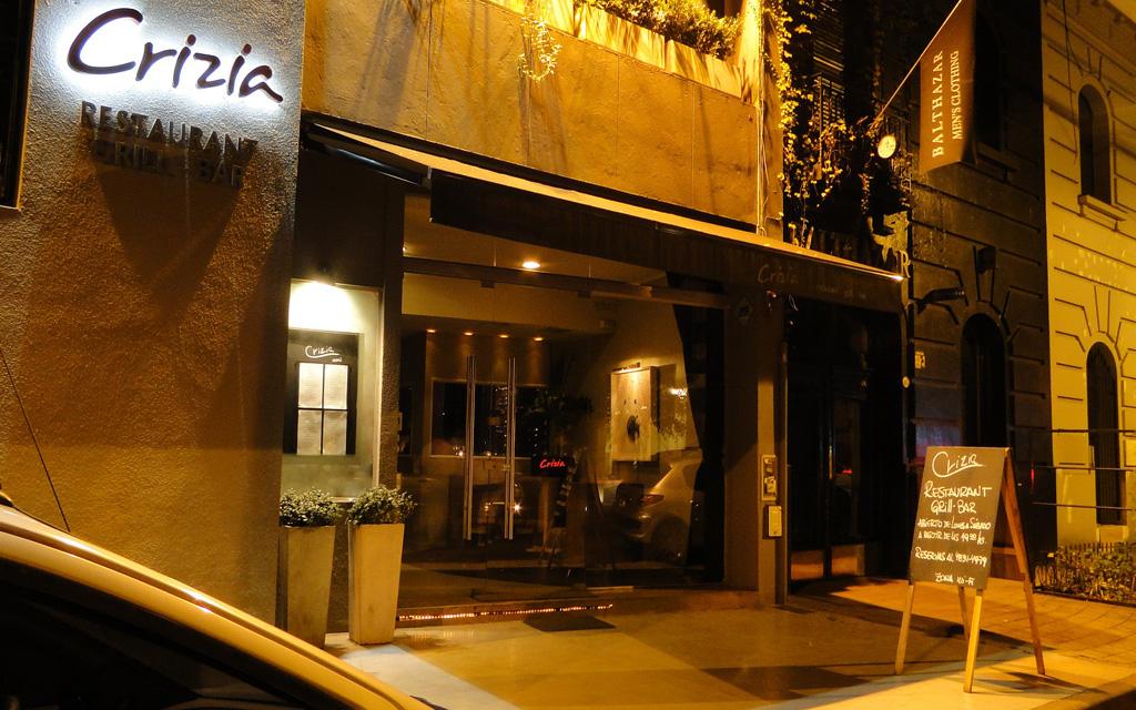 5 pasos de lujo en Crizia Restaurant de la mano de Oggero e Irigoyen