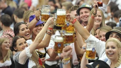Arrancaron los festejos por el Oktoberfest