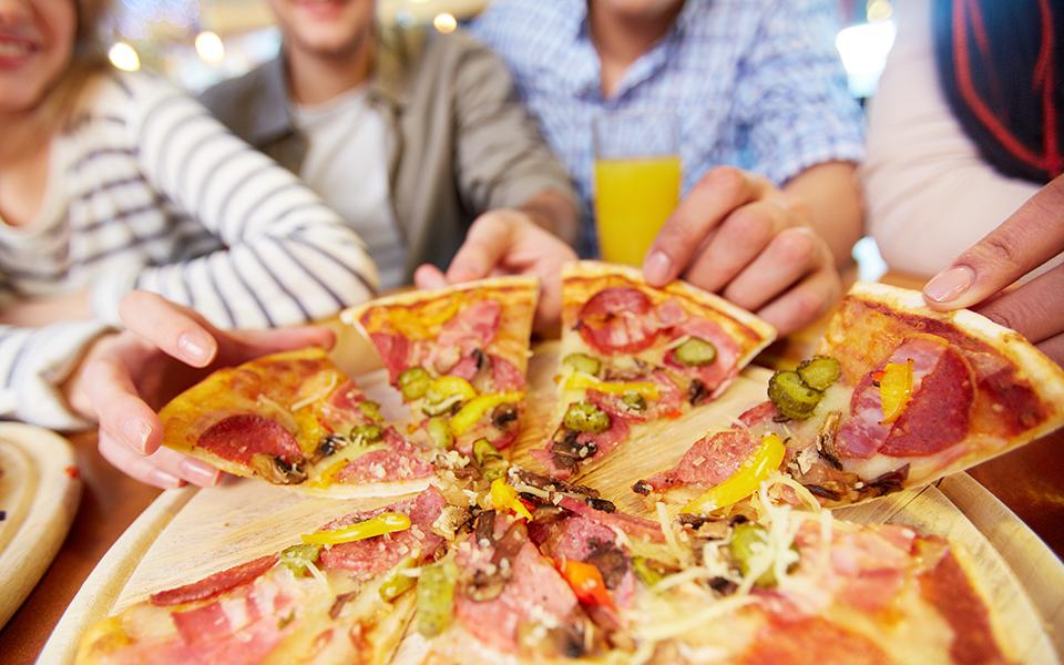 Show de pizzas para el fin de semana