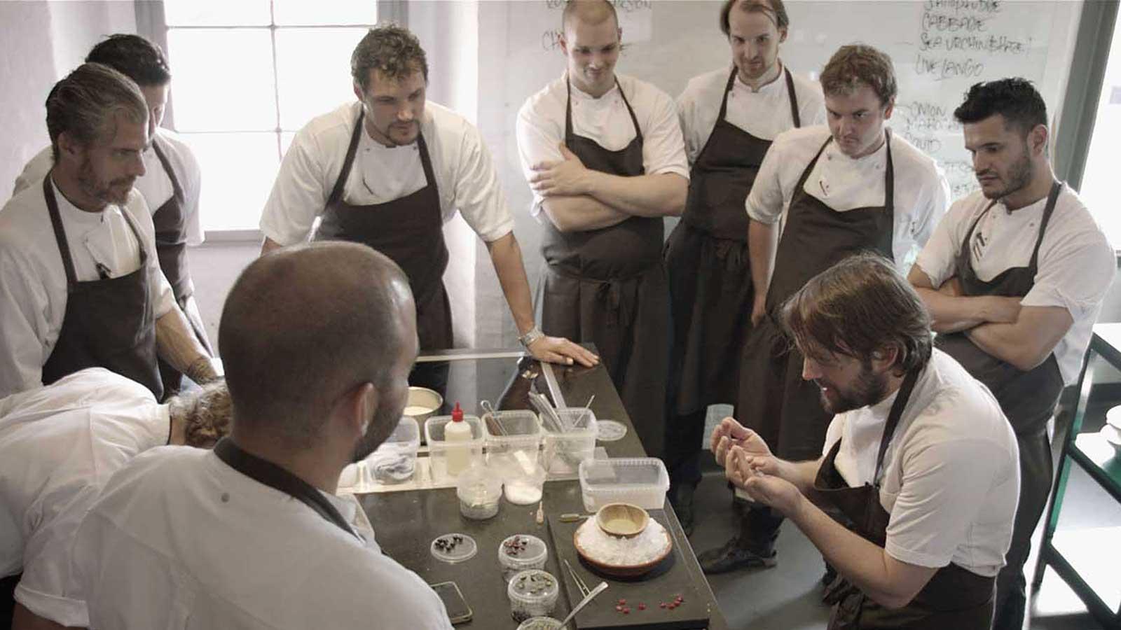 NOMA, el mejor restaurant del mundo, estrena su documental