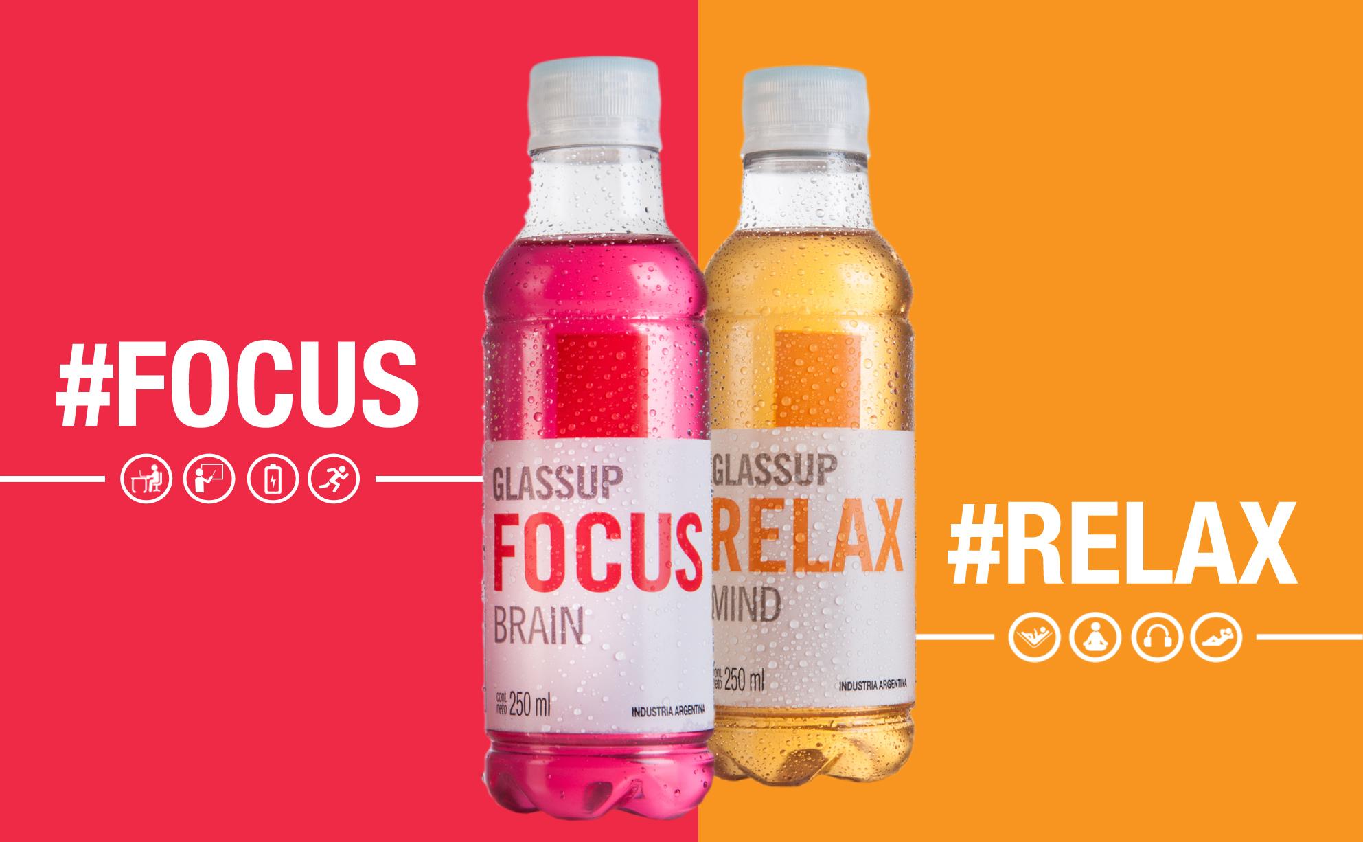Nuevas opciones para los amantes de las bebidas funcionales: llegan Focus y Relax