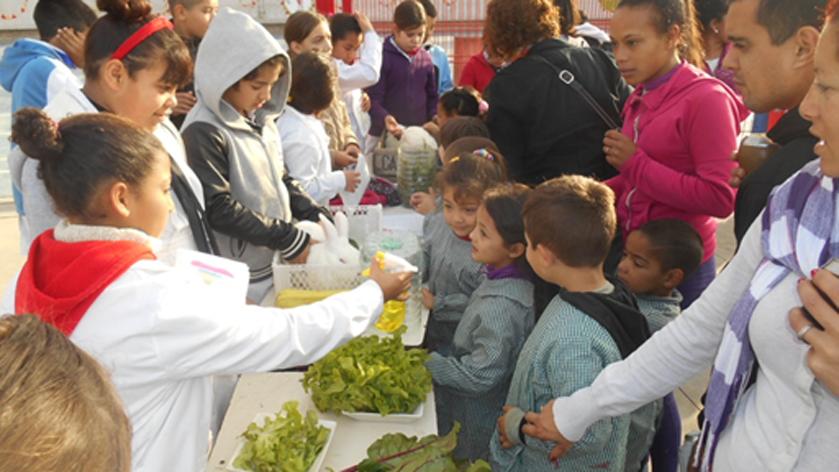El programa Huertas en Escuelas de Uruguay cumple 10 años y es un éxito