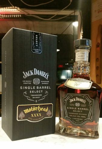 Jack Daniel's lanzó una edición limitada en honor a Lemmy de Motörhead