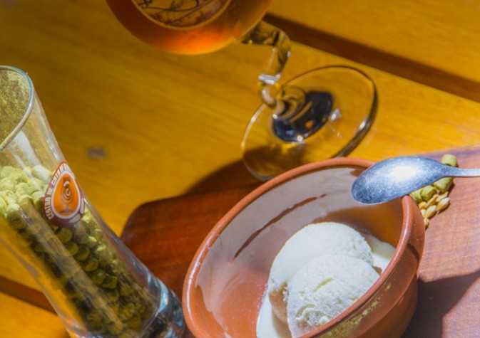 El primer helado elaborado con cerveza, en San Telmo