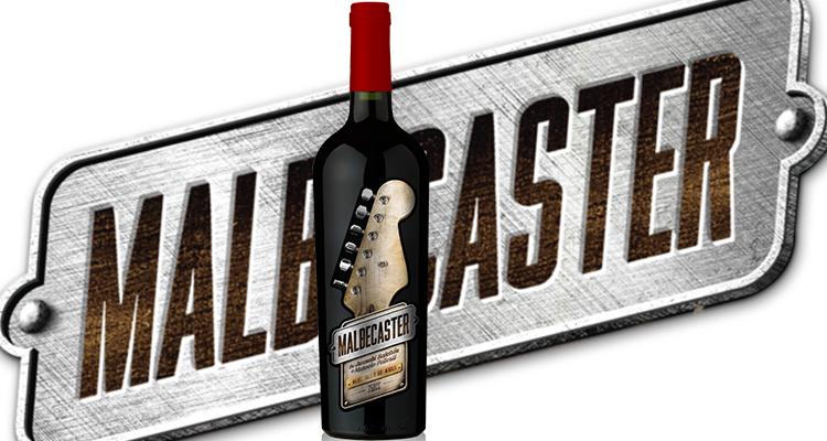 Malbecaster, un vino con mucho rock