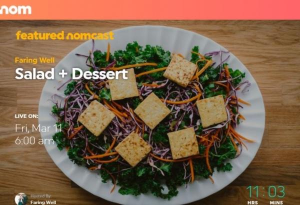 Atentos foodies: llegó NOM, el YouTube de la gastronomía