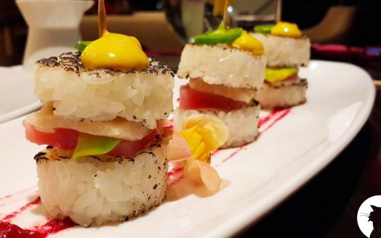 Nace una nueva tendencia, la sushihamburguesa