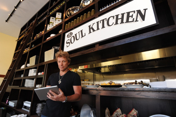 Conocé Soul Kitchen, el restaurant solidario de Bon Jovi