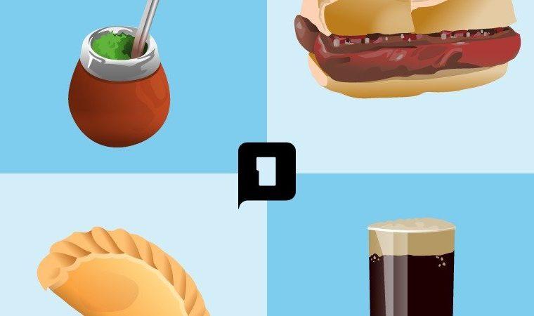 Lanzan una campaña para que la empanada, el mate, el fernet y el choripán se conviertan en emojis
