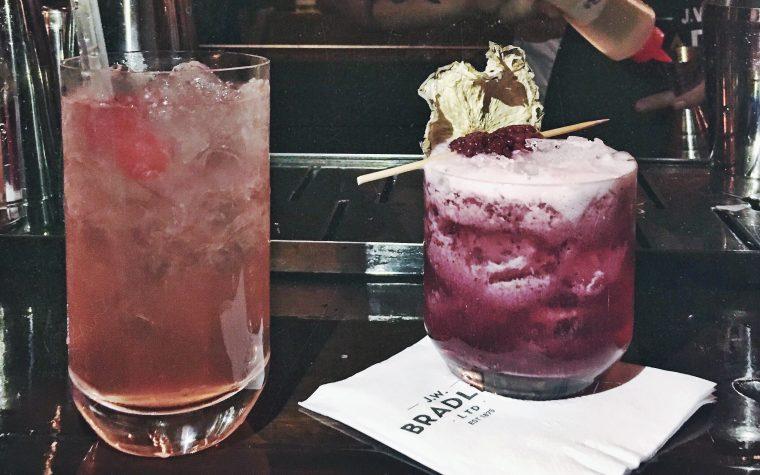 J.W. Bradley Bar: de trenes y cocktails