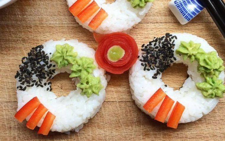 Sushi donut, para darle una vuelta al tradicional sushi