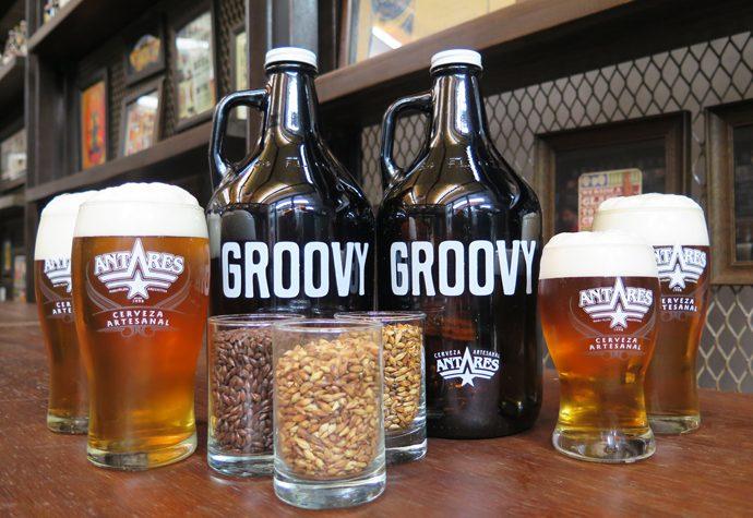 """Antares presentó """"Groovy"""", una cerveza dedicada al rock nacional"""