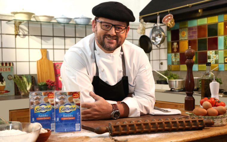 La Salteña presentó sus nuevas pastas con un desafío culinario