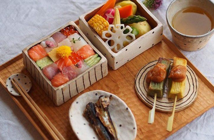 Mosaic sushi, una divertida forma de comer sushi