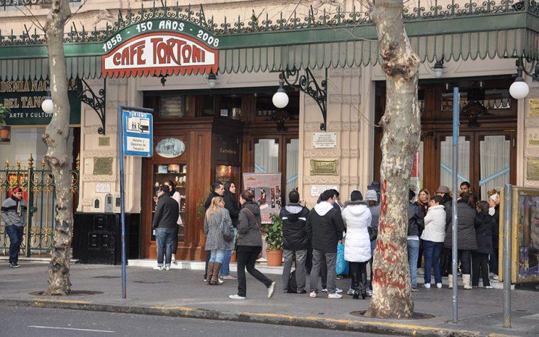 Los Cafetines porteños tuvieron su día de celebración