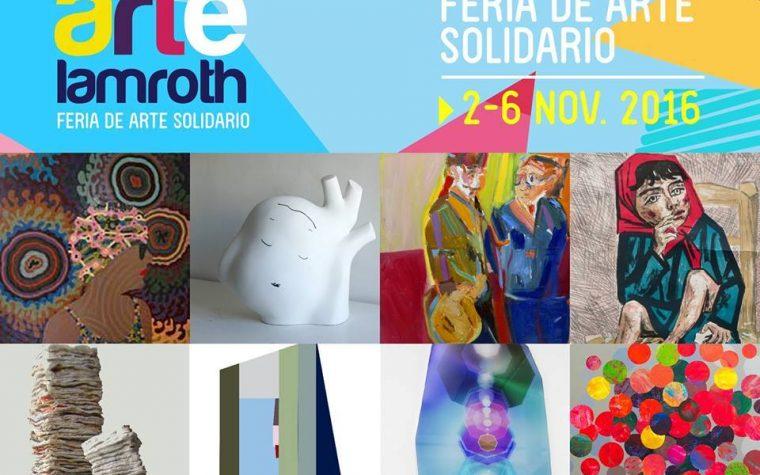 Arte y solidaridad en una nueva edición de la feria Artelamroth