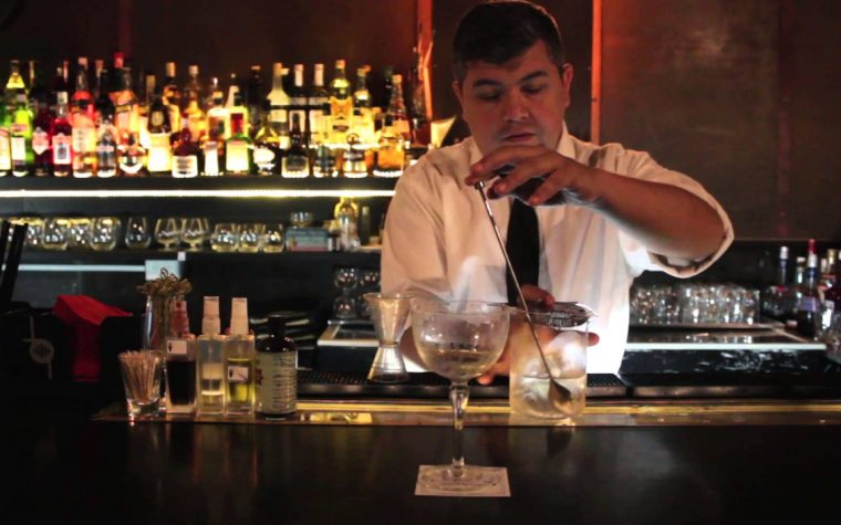 Federico Cuco, gran bartender argentino