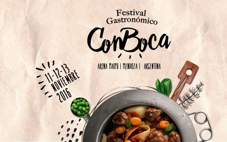 ConBoca, un nuevo festival gastronómico llega a Mendoza