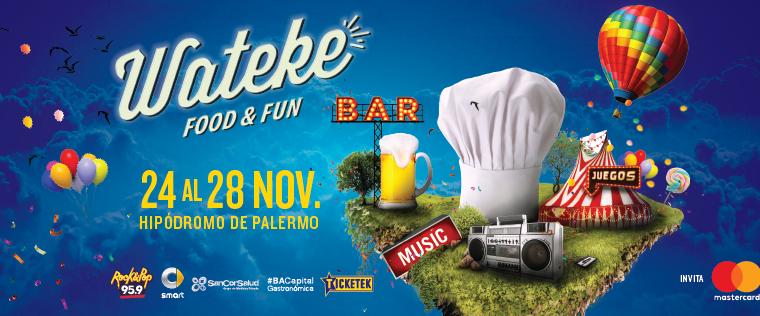 Wateke, el festival de la costa, se realiza por primera vez en Buenos Aires