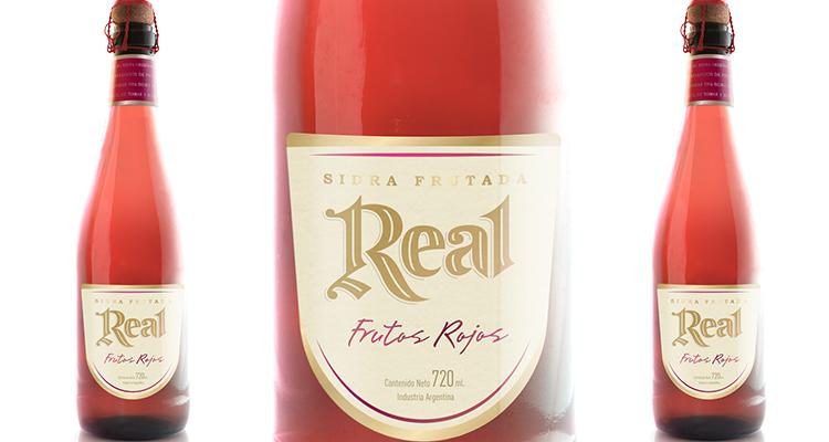 Sidra Real presentó su refrescante versión con frutos rojos