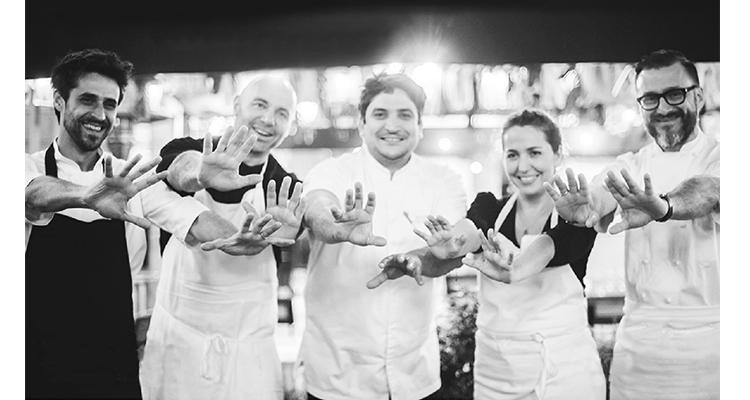 """Cinco grandes chefs argentinos cocinan a """"Diez Manos"""" en Londres"""