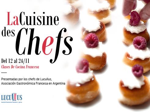 Vuelven las clases magistrales a La Cuisine des Chefs