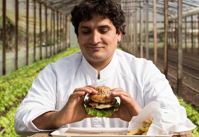 Carne, la hamburguesería de Colagreco, abrió en Olivos