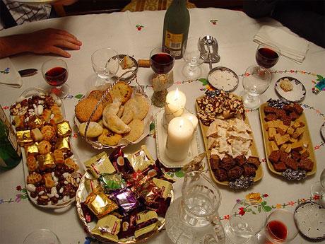 En la cena Navideña consumimos las calorías de toda una semana