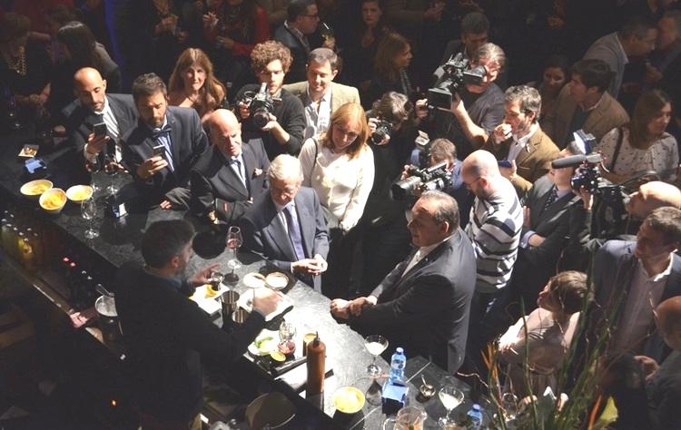 """Argentina se lanzó con todo en Madrid y presentó el """"Trago Argentino Mate"""""""