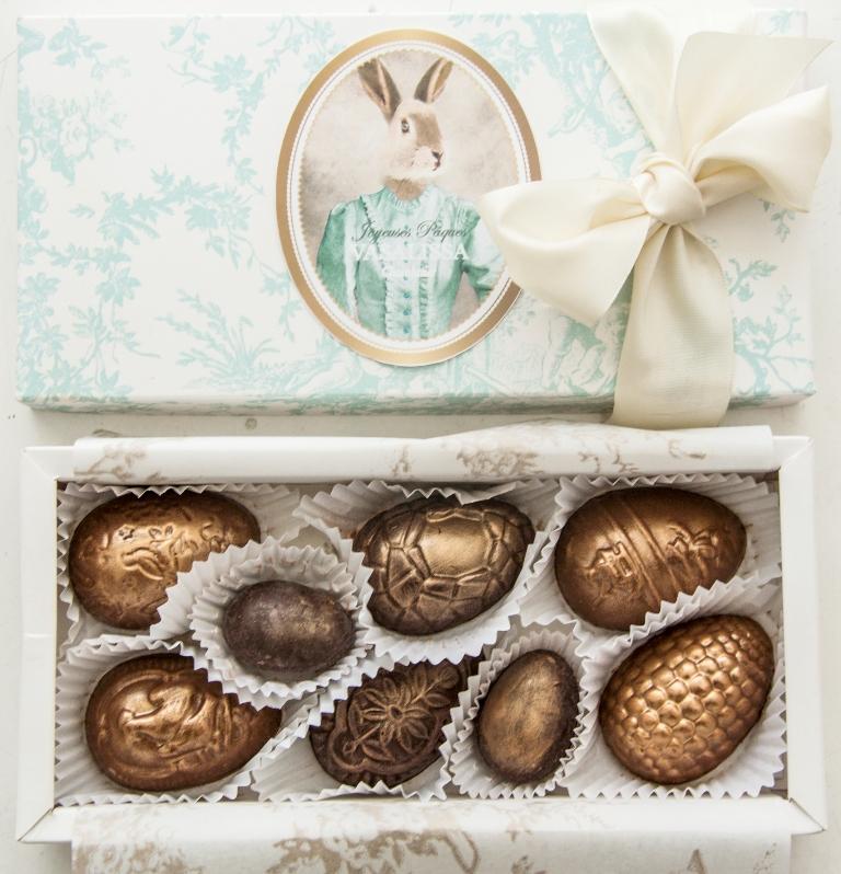 Vasalissa Chocolatier presentó su propuesta para Pascuas