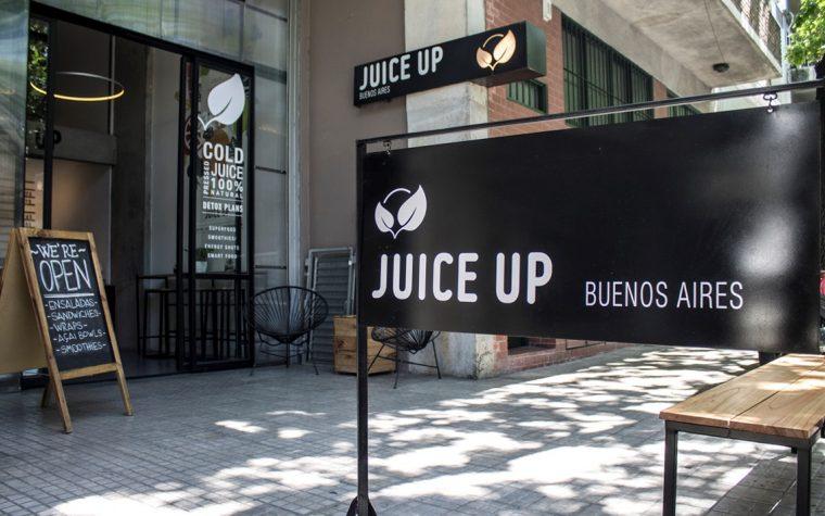 Juice Up: jugos naturales prensados en frío en Palermo
