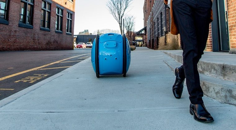 Gita, el robot-changuito que carga las compras