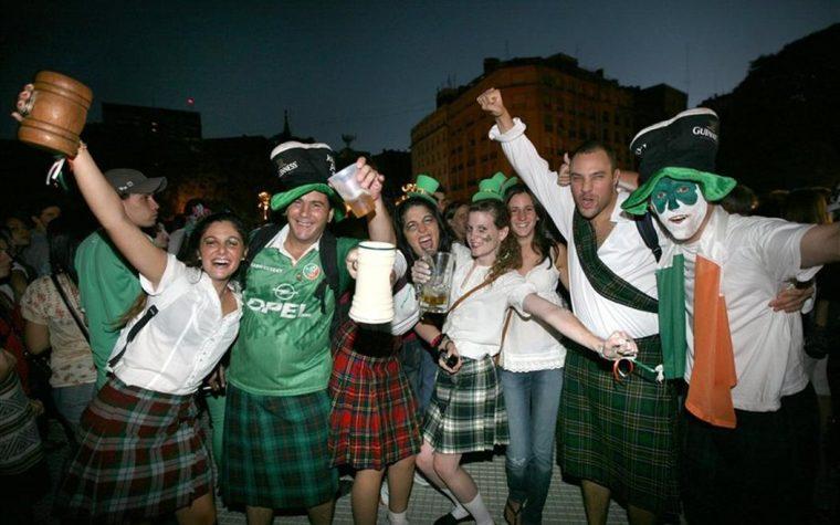Buenos Aires celebra a Irlanda y el País Vasco