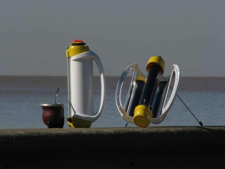 """""""Solarmate"""", un termo que calienta el agua con luz solar"""