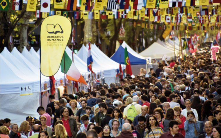 La Avenida de Mayo acogerá un gran Patio Gastronómico de las Colectividades