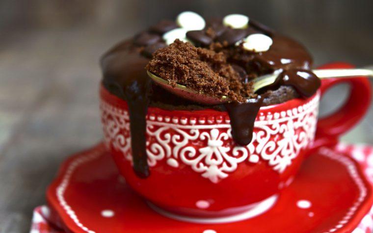 Mug cackes, la nueva moda a la hora de cocinar algo dulce