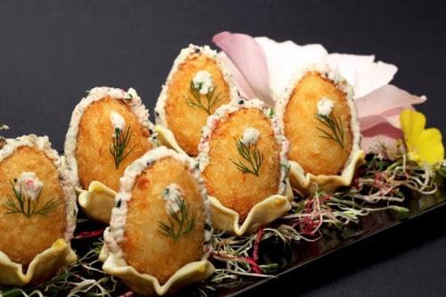 Para estas pascuas, los tradicionales huevos de centolla de Kokoro