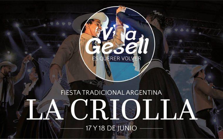 """Villa Gesell se prepara para su fiesta tradicional """"La Criolla"""""""