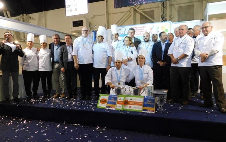 Estos son los ganadores del XII Campeonato Argentino de Pastelería