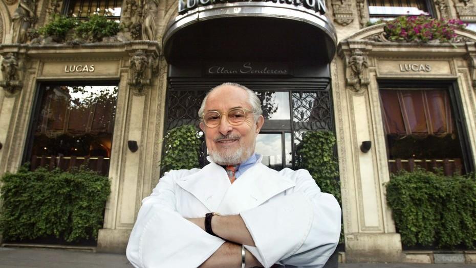 Murió Alain Senderens, el chef francés que devolvió sus estrellas Michelin
