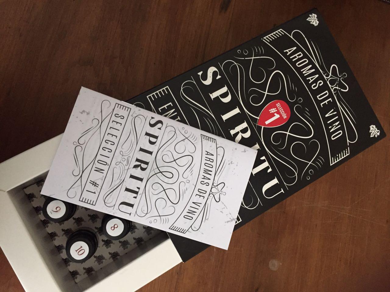"""""""Spiritu, Aromas de Vino"""", un kit para entrenarse en el arte de la cata"""