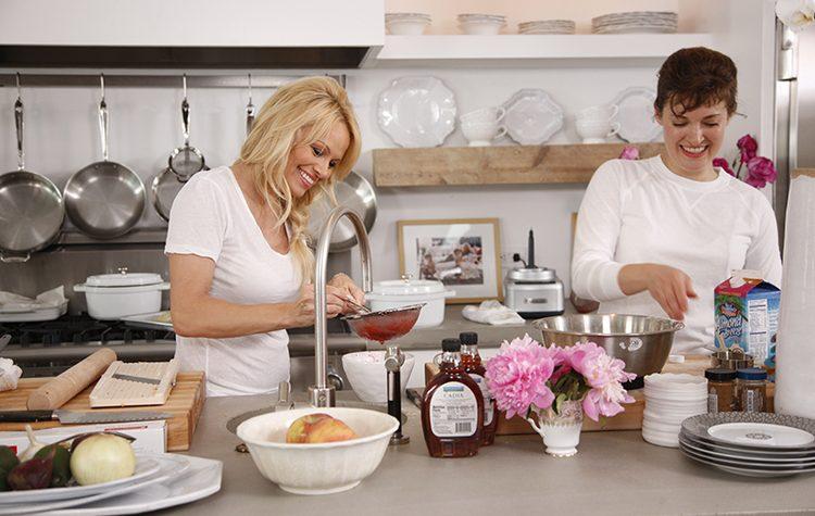 """Pamela Anderson atenderá un restaurante """"vegano-sexy"""" en Francia"""