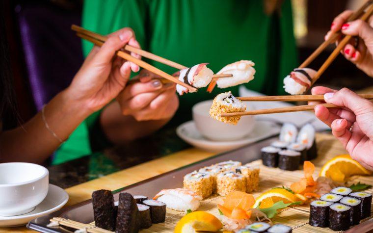 Delivery porteño: El sushi es más pedido que la pizza